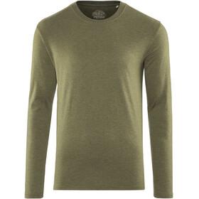 Prana Long Sleeve Langærmet T-shirt Herrer oliven